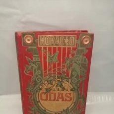 Livros antigos: Q. HORACIO FLACO: ODAS (EDICIÓN 1882). Lote 240828285