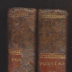Livros antigos: POESÍAS DEL CONDE DE NOROÑA. TOMOS I Y II. MADRID, 1799-1800. CASTELLÓN. CON DEFECTO. Lote 241140930