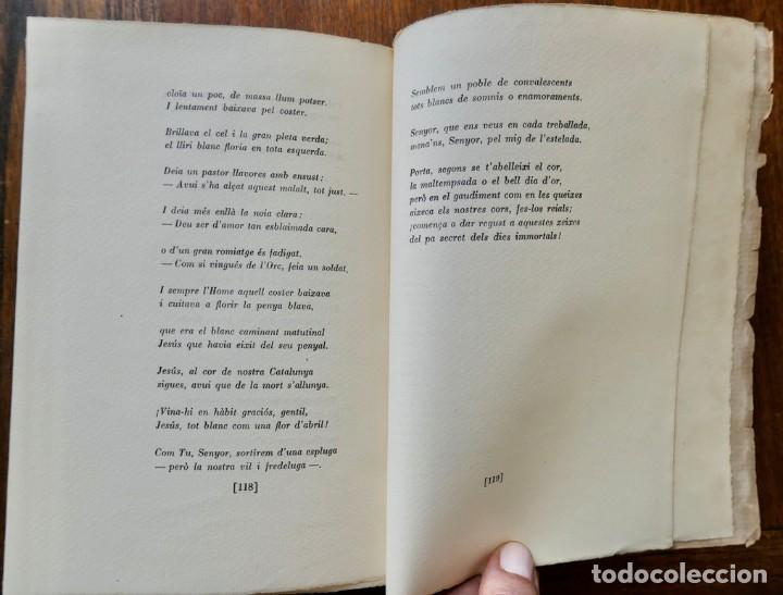 Libros antiguos: BELLA TERRA BELLA GENT- POEMES DE JOSEP CARNER- VOL III- SEGONA EDICIÓ - 1936 LLUIS GILI - Foto 7 - 242324390