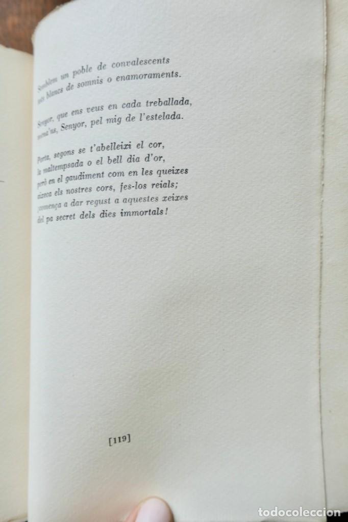 Libros antiguos: BELLA TERRA BELLA GENT- POEMES DE JOSEP CARNER- VOL III- SEGONA EDICIÓ - 1936 LLUIS GILI - Foto 8 - 242324390
