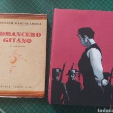 Libros antiguos: ROMANCERO GITANO 1937 Y EDICIÓN COLECCIONISTA. Lote 242353805