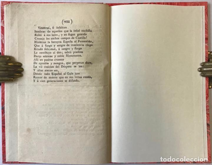 Libros antiguos: EL DIA DOS DE MAYO. ELEGIA. - NICASIO GALLEGO, Juan. - Foto 3 - 243543550