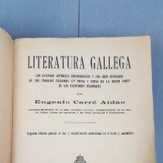 Libros antiguos: LIBRO DE LITERATURA GALLEGA POR EUGENIO CARRÉ ALDAO. AÑO 1911. CASA EDITORIAL MAUCCI.. Lote 243905630