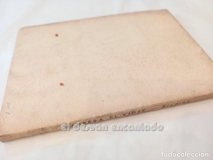 Libros antiguos: DARRERA EL VIDRE. Carles Sindreu. Ilust. Joan Miró. 1933. Dedicat a GALA DALI. Ex. nº 1 de 100 - Foto 6 - 245395930