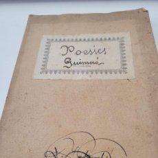 Livres anciens: POESIES GUIMERÁ - EDICIÓN PEDAGÓGICA EXPERIMENTAL - 1918 - CASA CARITAT. Lote 247301145