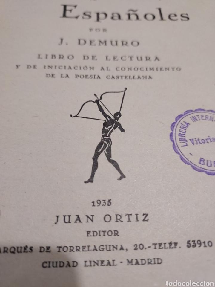 Libros antiguos: SELECCIÓN DE VERSOS ESPAÑOLES......1935.... - Foto 10 - 250328395