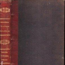 Libros antiguos: JUSTO DE SANCHA : ROMANCERO Y CANCIONERO SAGRADOS (RIVADENEYRA, 1855). Lote 251045020