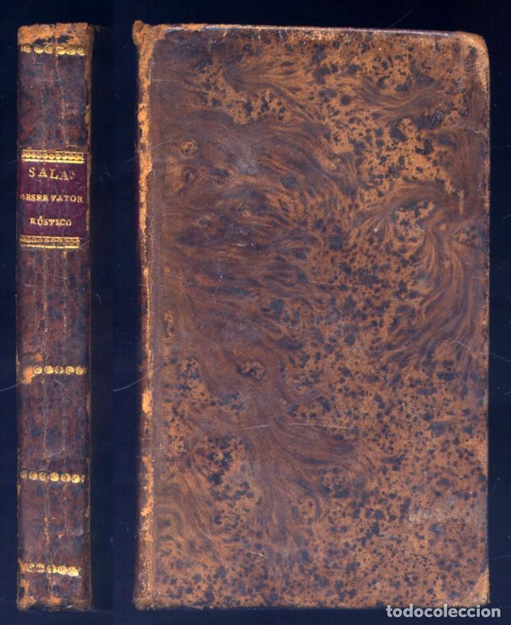 SALAS, FRANCISCO GREGORIO DE. OBSERVATORIO RÚSTICO. 1816. (Libros antiguos (hasta 1936), raros y curiosos - Literatura - Poesía)