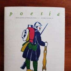 Livros antigos: BELLISIMA REVISTA DE 1978 DE LA COLECCIÓN POESIA Nº 3 CALIGRAMA VICENTE HUIDOBRO SINGLE EDGAR VARESE. Lote 253984025