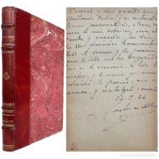 Livros antigos: 1938 - ¡DEDICADO POR EL AUTOR! - POESÍA ESPAÑOLA - CARLOS DE ALBERT DESPUJOL: PENSAMIENTO Y ABANICOS. Lote 254174705