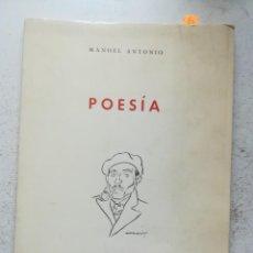 Libros antiguos: POESÍA, MANOEL ANTONIO. REAL ACADEMIA GALEGA, A CRUÑA 1979. Lote 277742868