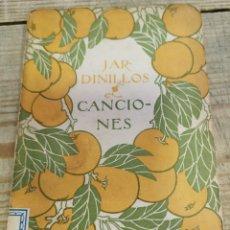 Libros antiguos: JARDINILLOS. CANCIONES. Lote 254961600