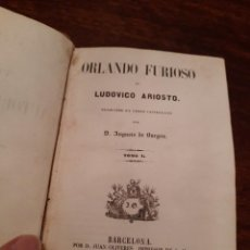 Libros antiguos: ORLANDO FURIOSO, LUDOVICO ARIOSTO. Lote 255453470