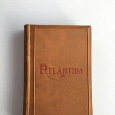 Libros antiguos: L'ATLANTIDA DE JACINT VERDAGUER. EDICIÓN 1886 BILINGÜE: CATALÀ - CASTELLANO. Lote 255487925