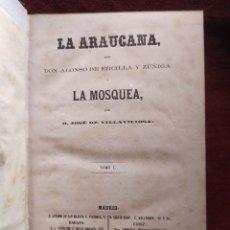 Libros antiguos: 1861. LA ARAUCANA. ALONSO DE ERCILLA.. Lote 259311725