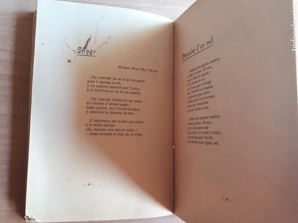 Libros antiguos: LA CANSÓ DE LISOLAT. DANIEL MARTÍNEZ FERRANDO. PRÒLEG DE SANTIAGO RUSIÑOL - Foto 3 - 262917345