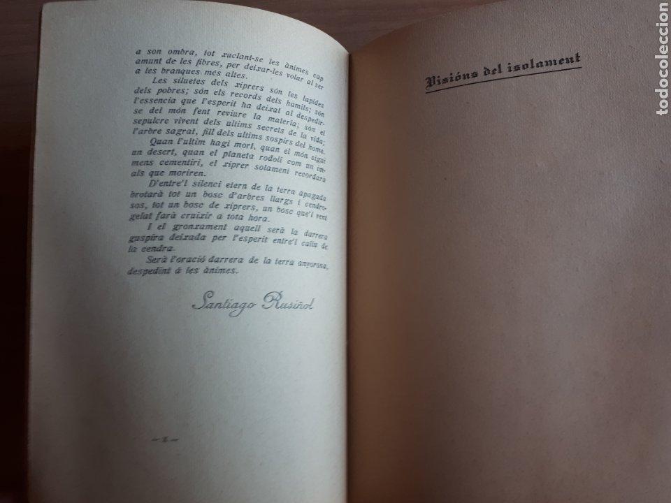 Libros antiguos: LA CANSÓ DE LISOLAT. DANIEL MARTÍNEZ FERRANDO. PRÒLEG DE SANTIAGO RUSIÑOL - Foto 4 - 262917345