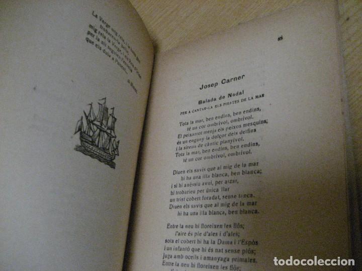 Libros antiguos: antologia de nadal . pròleg y tria tomas de la selva . ed joan merli 1923 poemas de navidad - Foto 6 - 265568929