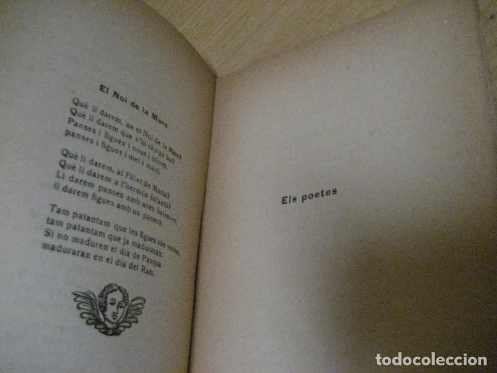 Libros antiguos: antologia de nadal . pròleg y tria tomas de la selva . ed joan merli 1923 poemas de navidad - Foto 7 - 265568929