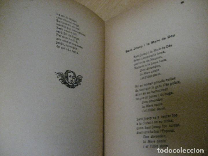Libros antiguos: antologia de nadal . pròleg y tria tomas de la selva . ed joan merli 1923 poemas de navidad - Foto 10 - 265568929
