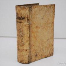 Libros antiguos: DANTE ALIGHIERI - LA DIVINA COMEDIA - GUILLERMO ROVILLO 1575 - DANTE CON NUOVE ET UTILE ISPOSITIONE. Lote 269049603