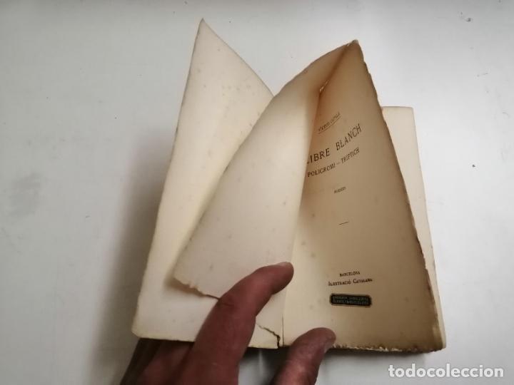 Libros antiguos: LLibre Blanch. Policromi - tríptich. Victor Català. Poesíes. 1905 Barcelona. Ilustracio Catalana - Foto 2 - 269058983