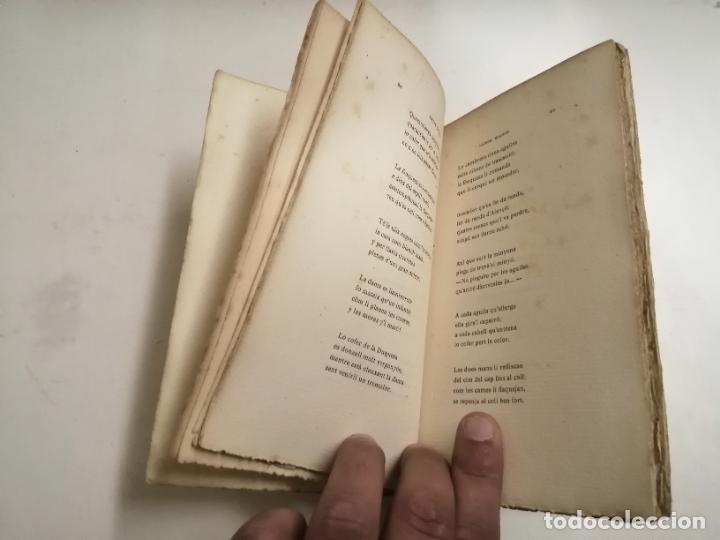 Libros antiguos: LLibre Blanch. Policromi - tríptich. Victor Català. Poesíes. 1905 Barcelona. Ilustracio Catalana - Foto 3 - 269058983