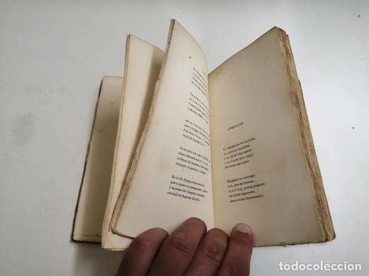 Libros antiguos: LLibre Blanch. Policromi - tríptich. Victor Català. Poesíes. 1905 Barcelona. Ilustracio Catalana - Foto 5 - 269058983