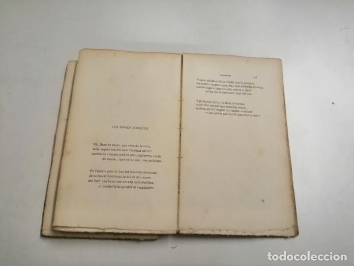 Libros antiguos: LLibre Blanch. Policromi - tríptich. Victor Català. Poesíes. 1905 Barcelona. Ilustracio Catalana - Foto 7 - 269058983
