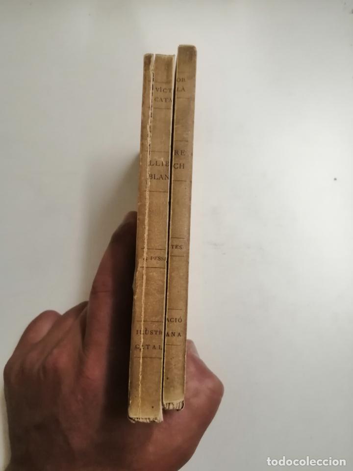 Libros antiguos: LLibre Blanch. Policromi - tríptich. Victor Català. Poesíes. 1905 Barcelona. Ilustracio Catalana - Foto 9 - 269058983