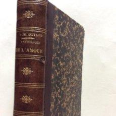 Libros antiguos: EXCELENTE ENCUADERNACIÓN. EJEMPLAR N.º 89. EN FRANCÉS.. Lote 269973788