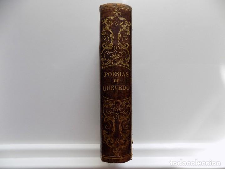 Libros antiguos: LIBRERIA GHOTICA. LUJOSA EDICIÓN DE LA CUMBRE DEL PARNASO ESPAÑOL.POESIAS DE QUEVEDO.1846.ED.BERMEJO - Foto 2 - 270192373