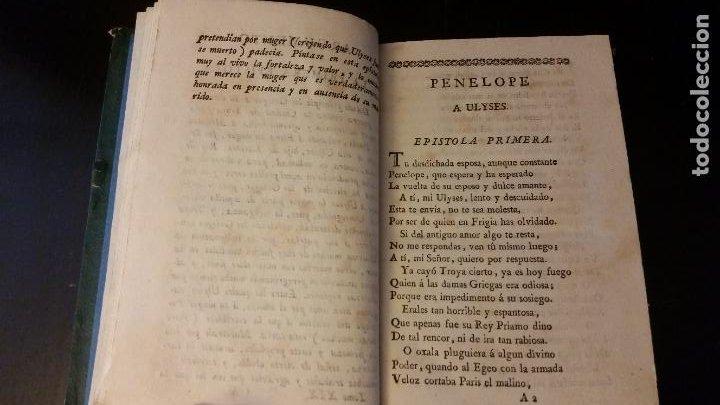 Libros antiguos: 1797 - Las Heroydas de Ovidio traducidas por Diego Mexía - Foto 5 - 270259228