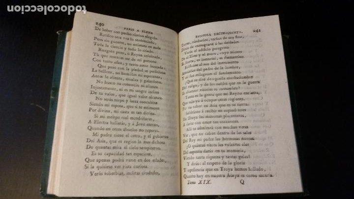 Libros antiguos: 1797 - Las Heroydas de Ovidio traducidas por Diego Mexía - Foto 7 - 270259228