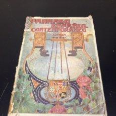 Libros antiguos: ANTIGUO LIBRO PARNASO ESPAÑOL CONTEMPORÁNEO, ANTOLOGÍA COMPLETA DE LOS MEJORES POETAS.. Lote 271153763