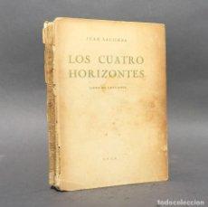 Libros antiguos: AÑO 1938 - LOS CUATRO HORIZONTES - POESÍA - JUAN LACOMBA. Lote 271535748
