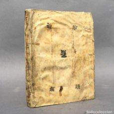 Libros antiguos: AÑO 1560 - PUBLIO OVIDIO NASÓN - HEROIDES EPISTOLAE - PERGAMINO - POESÍA. Lote 271544978