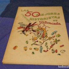Libros antiguos: BONITO LIBRO COMICO LAS 50 MEJORES HISTORIETAS DE JUNCEDA 1942 BUEN ESTADO. Lote 272758143