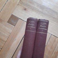 Libros antiguos: FLORILEGIO DE POESÍAS CASTELLANAS DEL SIGLO XIX, JUAN VALERA. Lote 273357593