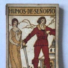 Libros antiguos: HUMOS DE SEÑORÍO. SEGUNDO LIBRO DE VERSOS. - LAGUÍA LLITERAS, JUAN. DEDICADO.. Lote 123206110
