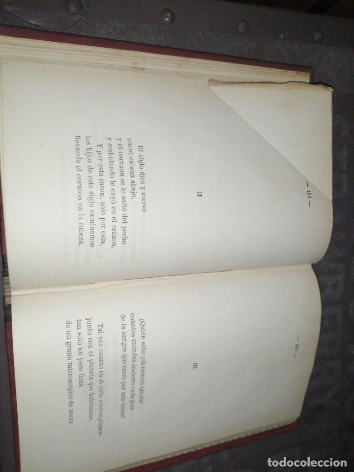 Libros antiguos: Joaquín Maria Bartrina , algo , 1881 librería española - Foto 6 - 277540393