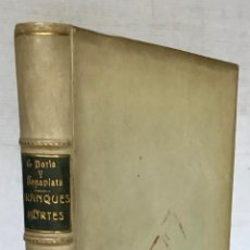 Libros antiguos: BRANQUES MORTES. - DORIA Y BONAPLATA, EVELI.. Lote 123182683