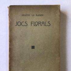 Libros antiguos: JOCS FLORALS. POBLE NOU 10 SETEMBRE 1916.. Lote 123145812