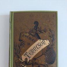 Libros antiguos: POEMAS DE TENNYSON - ALFRED TENNYSON. Lote 278274223