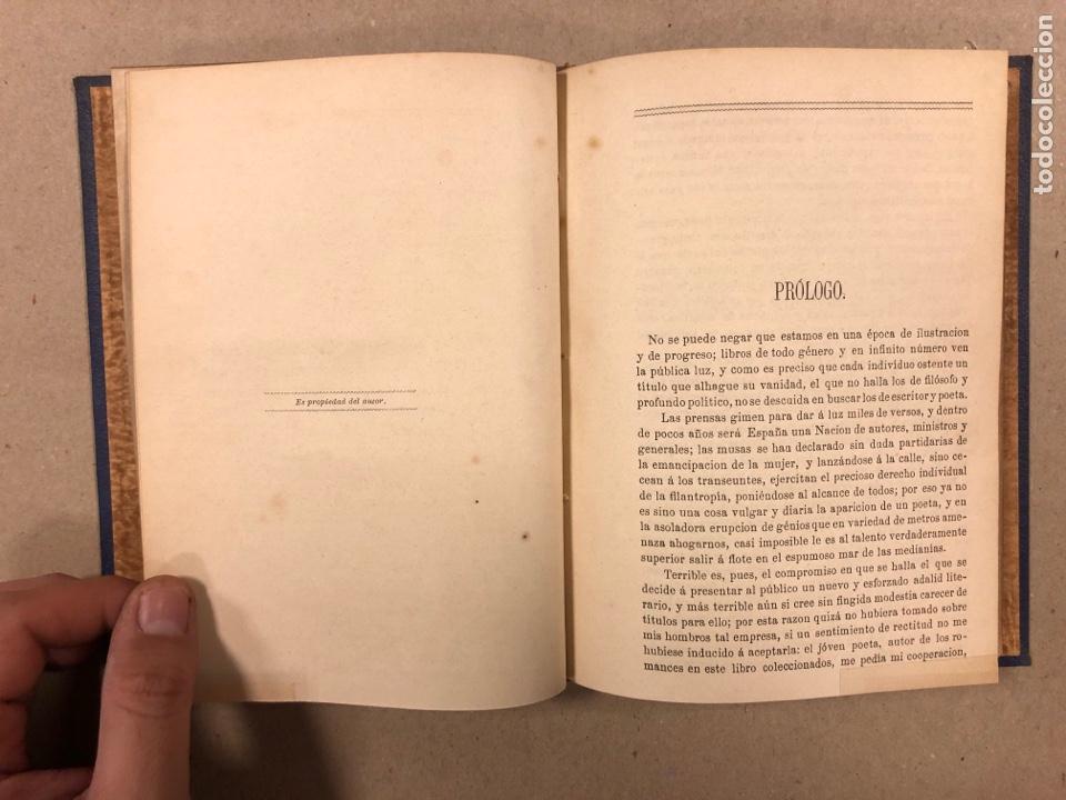 Libros antiguos: EL ROMANCERO NAVARRO. HERMINIO OLORIZ. IMPRENTA PROVINCIAL PAMPLONA (1876). - Foto 5 - 281935653