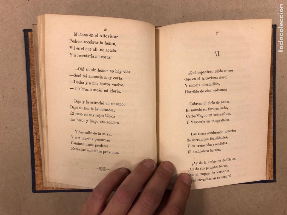 Libros antiguos: EL ROMANCERO NAVARRO. HERMINIO OLORIZ. IMPRENTA PROVINCIAL PAMPLONA (1876). - Foto 7 - 281935653