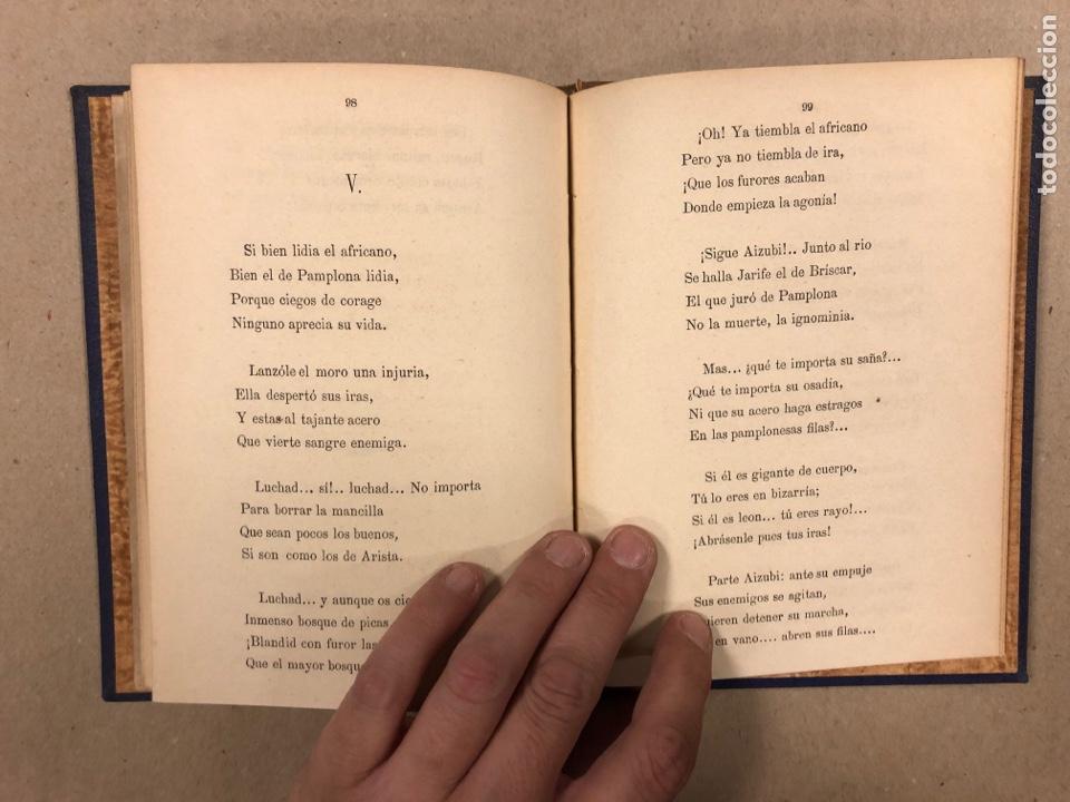 Libros antiguos: EL ROMANCERO NAVARRO. HERMINIO OLORIZ. IMPRENTA PROVINCIAL PAMPLONA (1876). - Foto 10 - 281935653