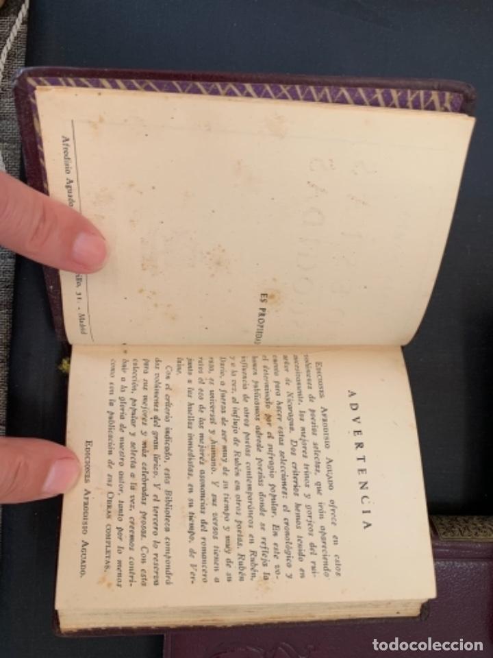 RUBEN DARIO POESIAS ESCOGIDAS DOS VOLUMENES (Libros antiguos (hasta 1936), raros y curiosos - Literatura - Poesía)