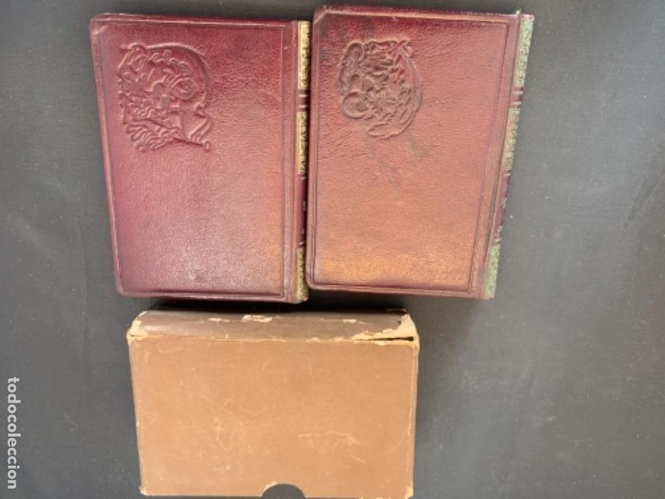Libros antiguos: RUBEN DARIO POESIAS ESCOGIDAS DOS VOLUMENES - Foto 3 - 285762373