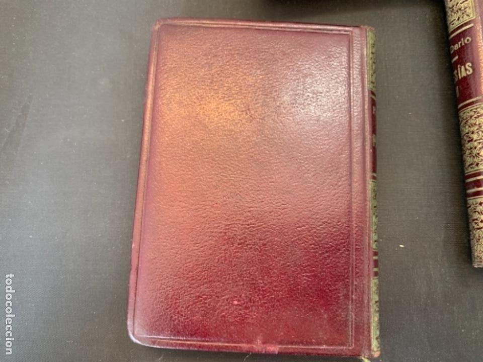 Libros antiguos: RUBEN DARIO POESIAS ESCOGIDAS DOS VOLUMENES - Foto 5 - 285762373